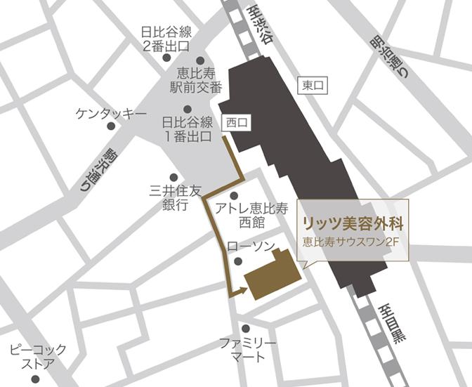 新東京院マップ